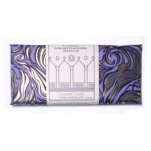 Lavender and Honey Dark Chocolate Bar