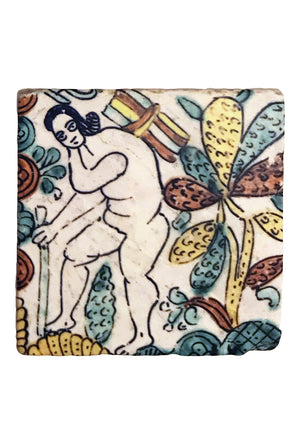 Mexican Coaster: Nude Figure