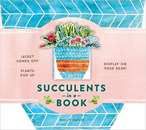 Succulents in a Book: A Bouquet in a Book