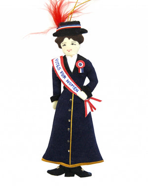 Suffragette Ornament