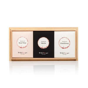 Wine Gums Wood Box Trio