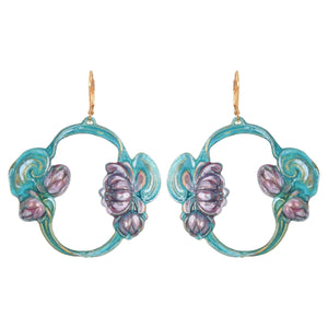 Lily Pond Earrings