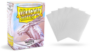Dragon Shield White Matte Standard Size (100ct)