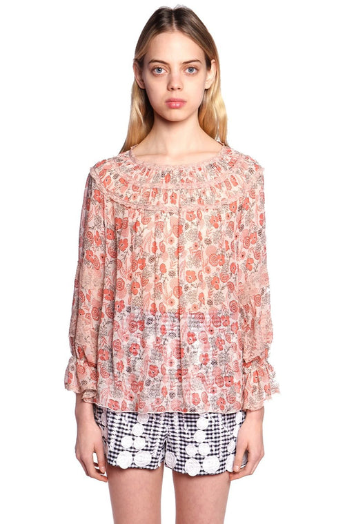 Flowers In The Field Blouse