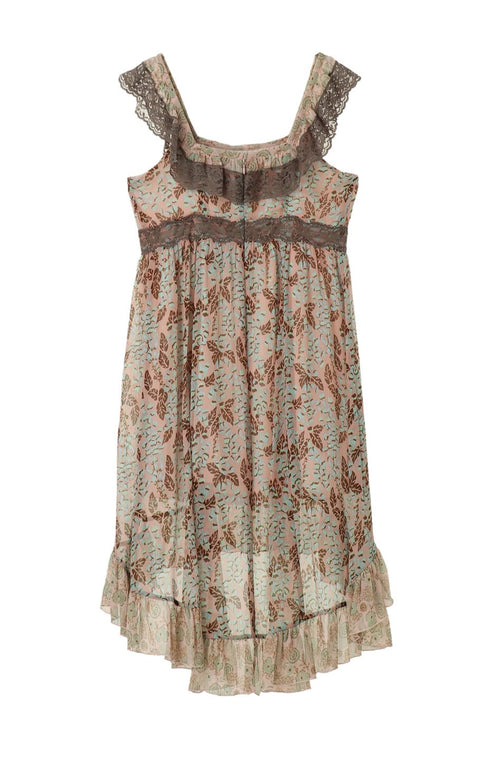 Foxglove Hi-Low Dress