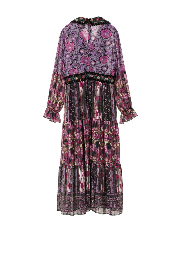 Larkspur Fields Patchwork Dress