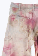 EXCLUSIVE COLOR TIE DYE DEADSTOCK VINTAGE PAINTERS PANTS