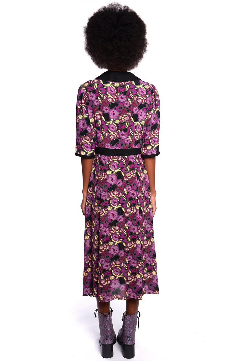 Larkspur Fields Dress - Anna Sui