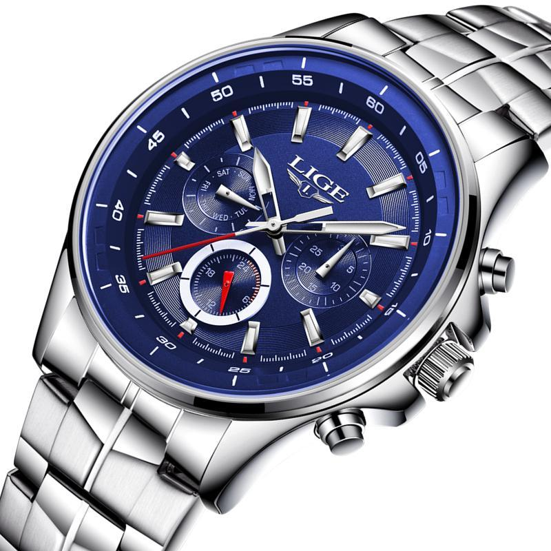 Watch Men Business Waterproof Clock Mens Watches