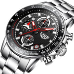 Men's Luxury Brand Full steel Quartz Watches Men Military Waterproof Wrist watch Man