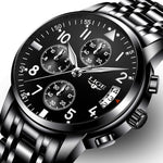 Mens Watches Top Brand Luxury Fashion Business Quartz Watch