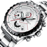 Mens Watches Top Brand Luxury Fashion Watch Men Sport Quartz Clock
