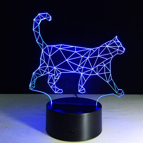 The new walking cat 3D Nightlight