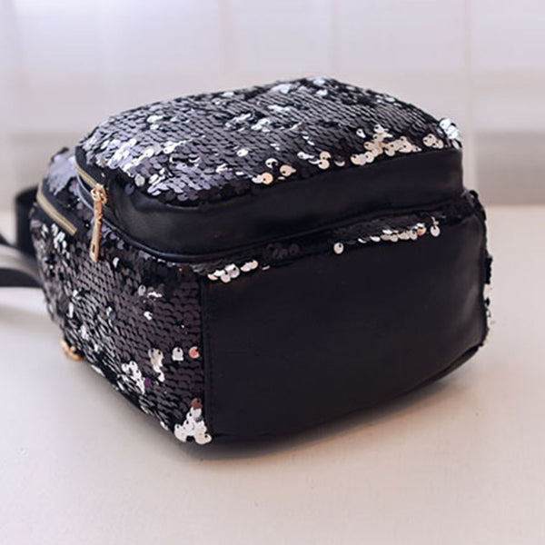 Sequins Travel Fashion Backpack