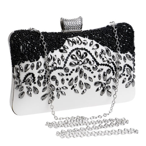 Luxurious evening party clutch