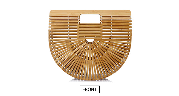 Half Moon Bamboo Bag