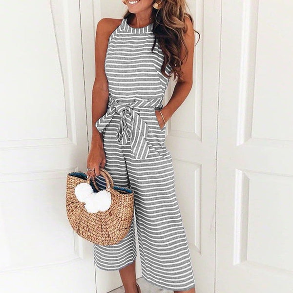 Summer Mid Length Jumpsuit