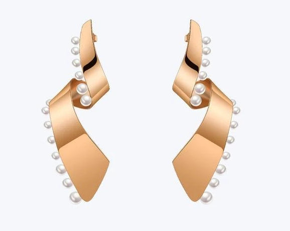 Pearl Lacy Earrings