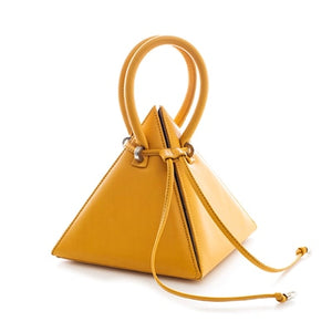 Casual String 3D Triangle Bag