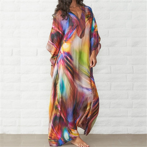 Kaftan Beach Cotton Cover up