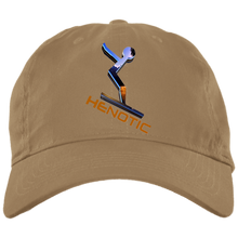 henotic3 HENOTIC BX001 Brushed Twill Unstructured Dad Cap