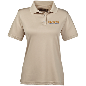Henotic Ladies' Snap Placket Performance Polo