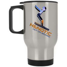 Henotic Silver Stainless Travel Mug