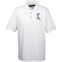 Henotic Men's Snap Placket Performance Polo
