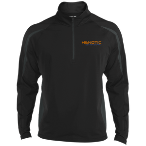 Henotic Men's Sport Wicking Colorblock 1/2 Zip