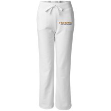 Henotic Women's Open Bottom Sweatpants with Pockets
