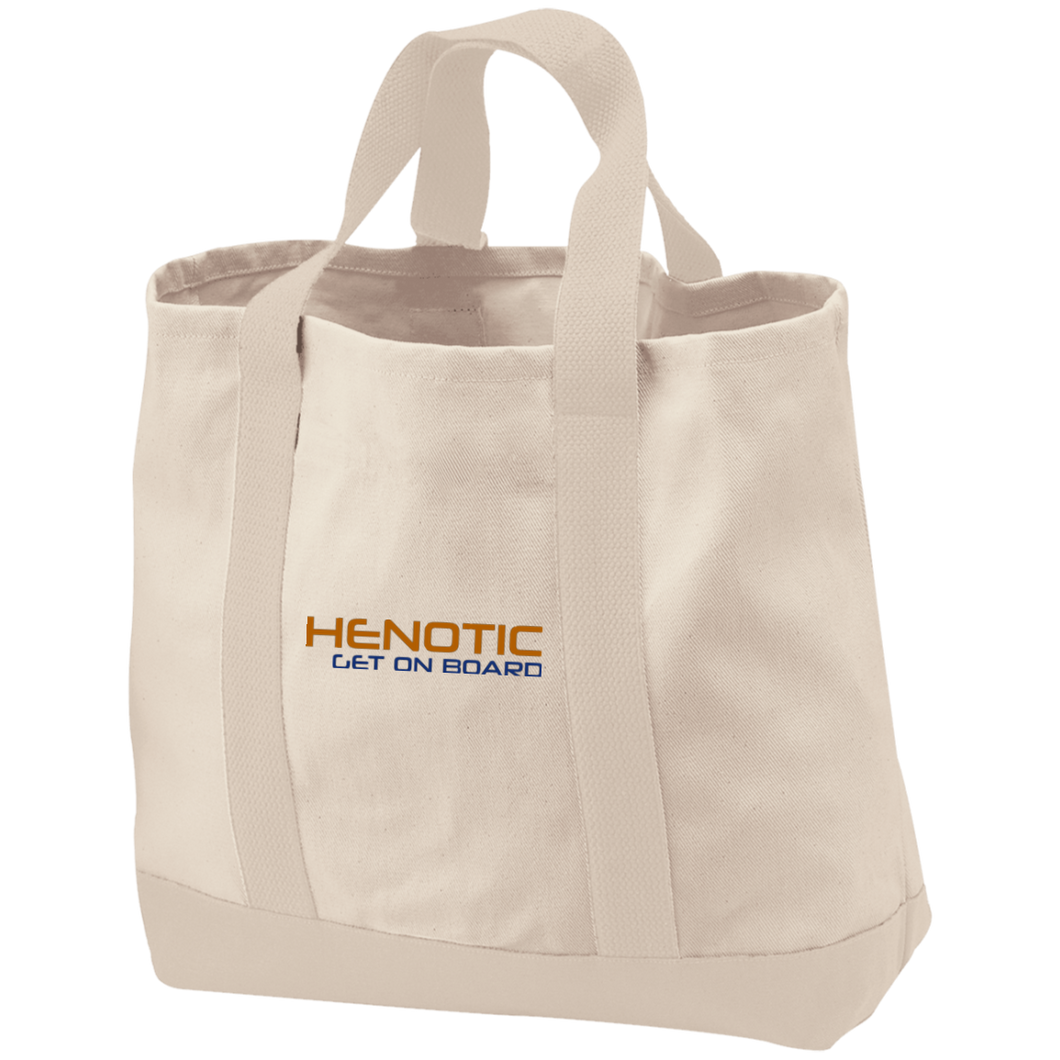 Henotic 2-Tone Shopping Tote