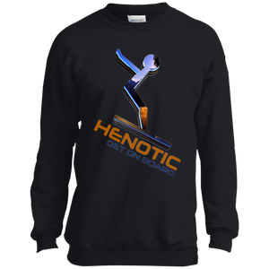 Henotic Youth Crewneck Sweatshirt