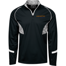 Henotic 1/4 Zip Polyester Pullover with Camo Inserts