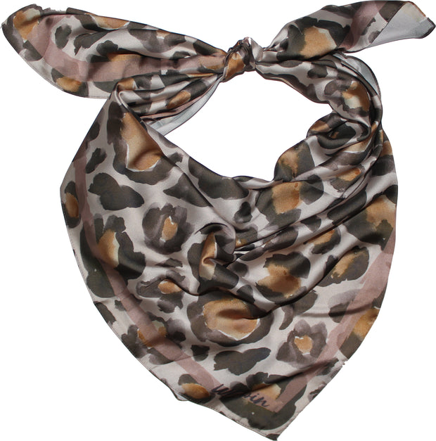 Light Leopard Print Wild Rag 1