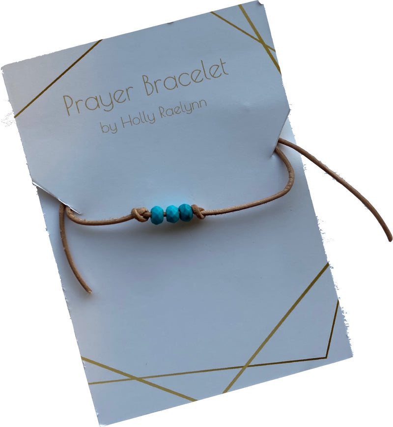 Prayer Bracelet by Holly
