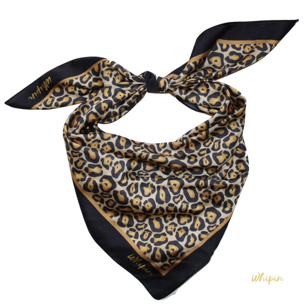 Leopard - animal print scarf, Whipin Wild Rags