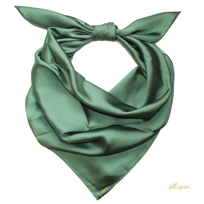 Moss - olive green scarf, Whipin Wild Rags