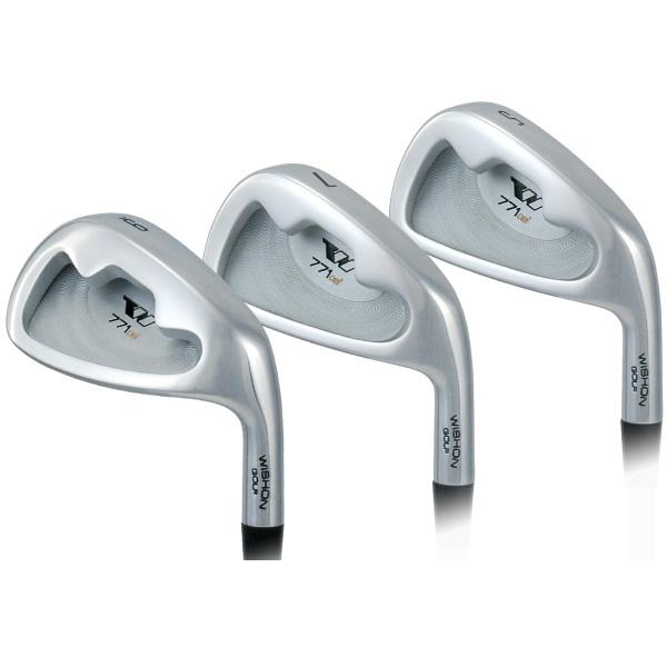 Wishon 771CSI Irons Club Set | #4 - AW | Steel - Uncut