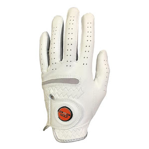 PnP Cabretta Leather Golf Glove - White