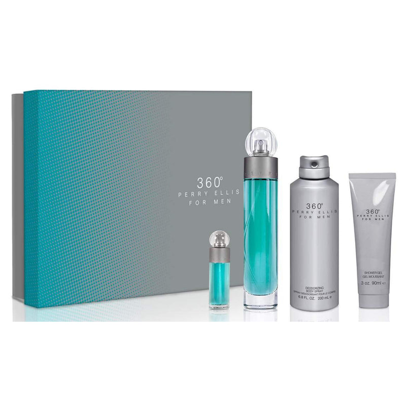 Perry Ellis 360 4PC Cologne Set