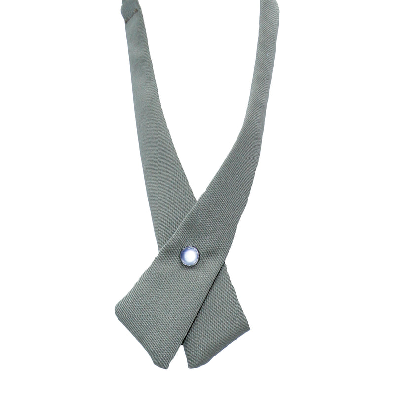 Khaki Solid Criss-Cross Tie