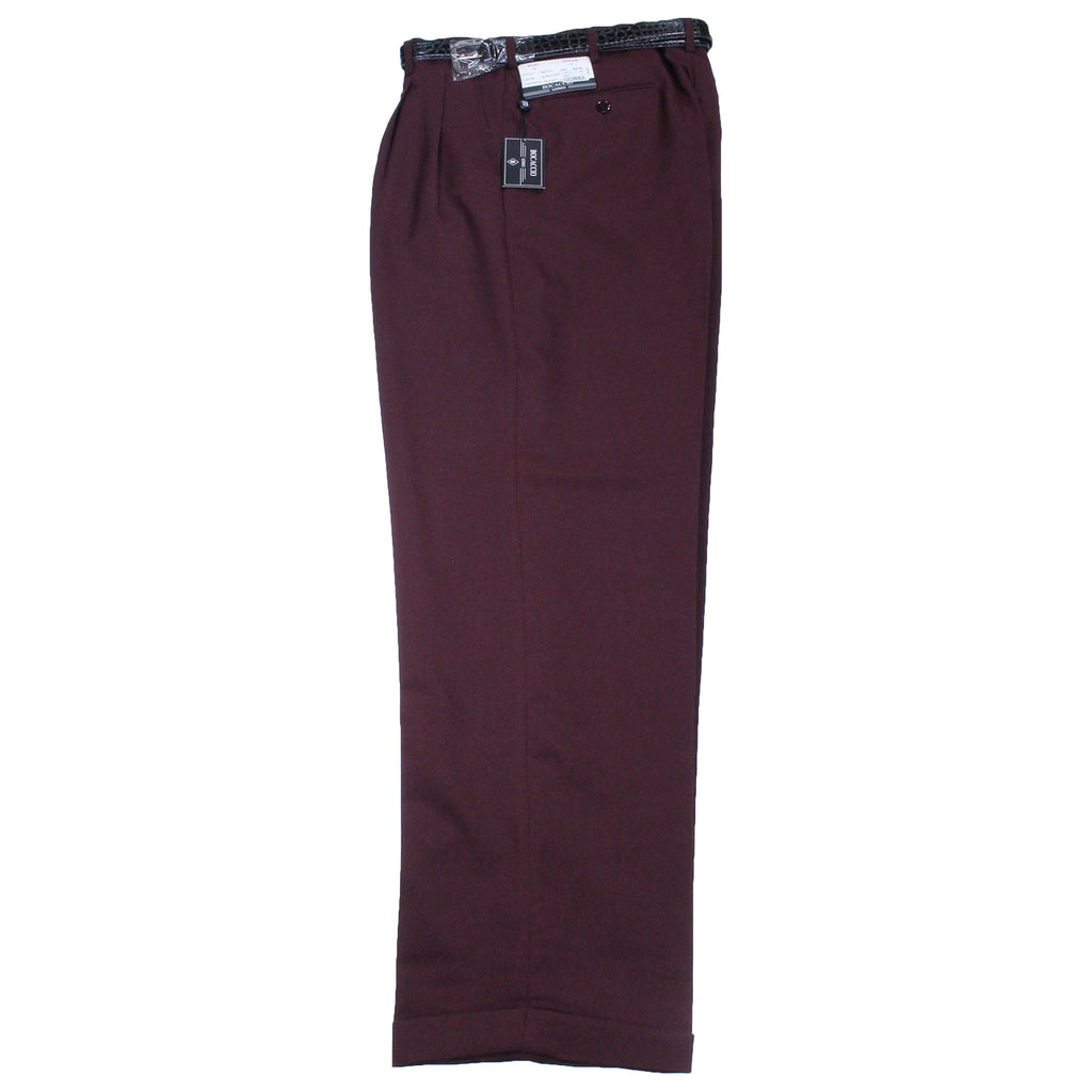 Burgundy Bocaccio Dress Pants