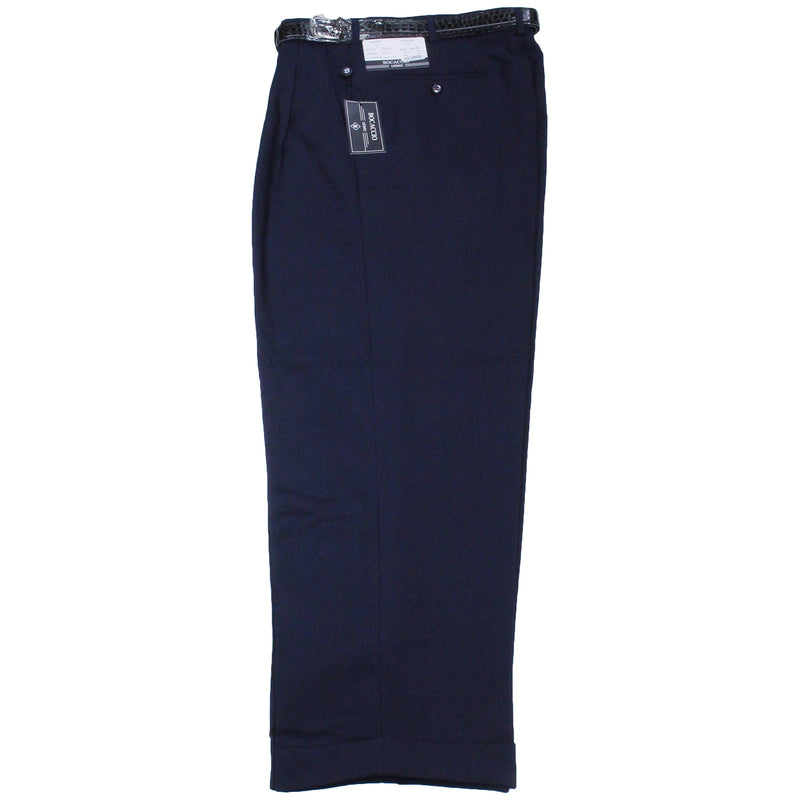 Navy Bocaccio Dress Pants