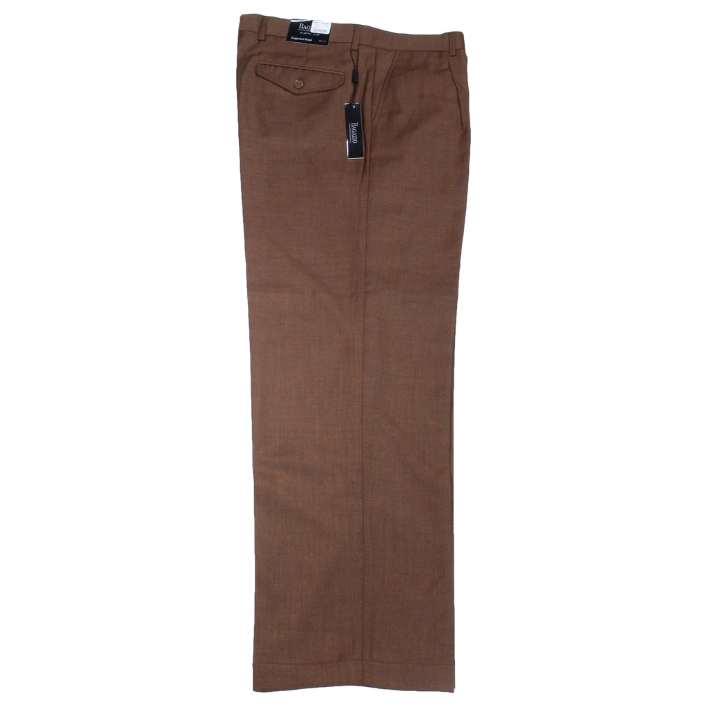 Cognac Bagazio Dress Pants