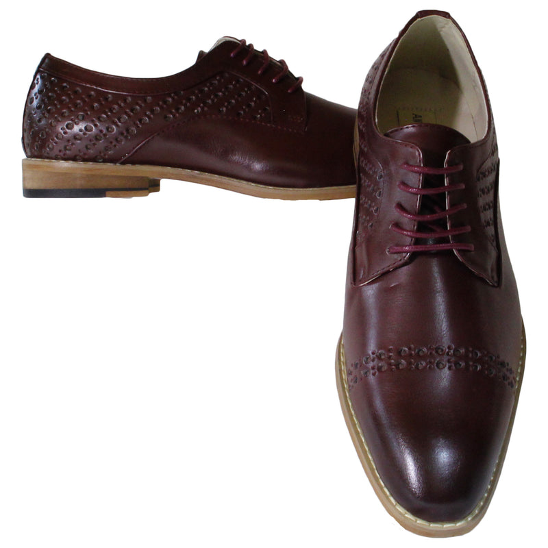 Burgundy Antonio Cerrelli Dress Shoes