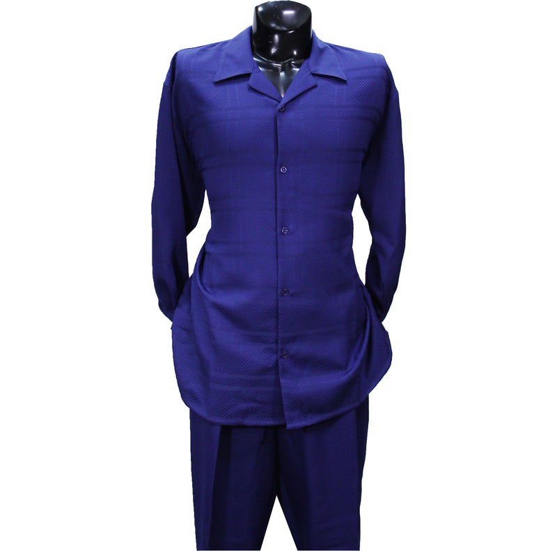 Navy Montique 2 PC Set