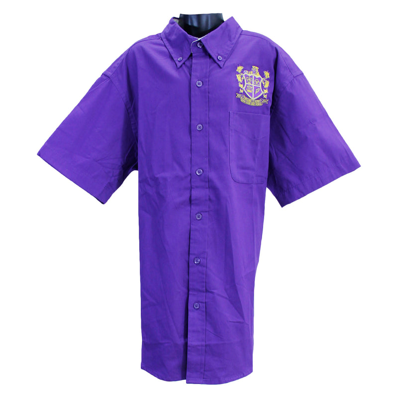 Edna Kar Unisex Oxfords Uniform Shirt