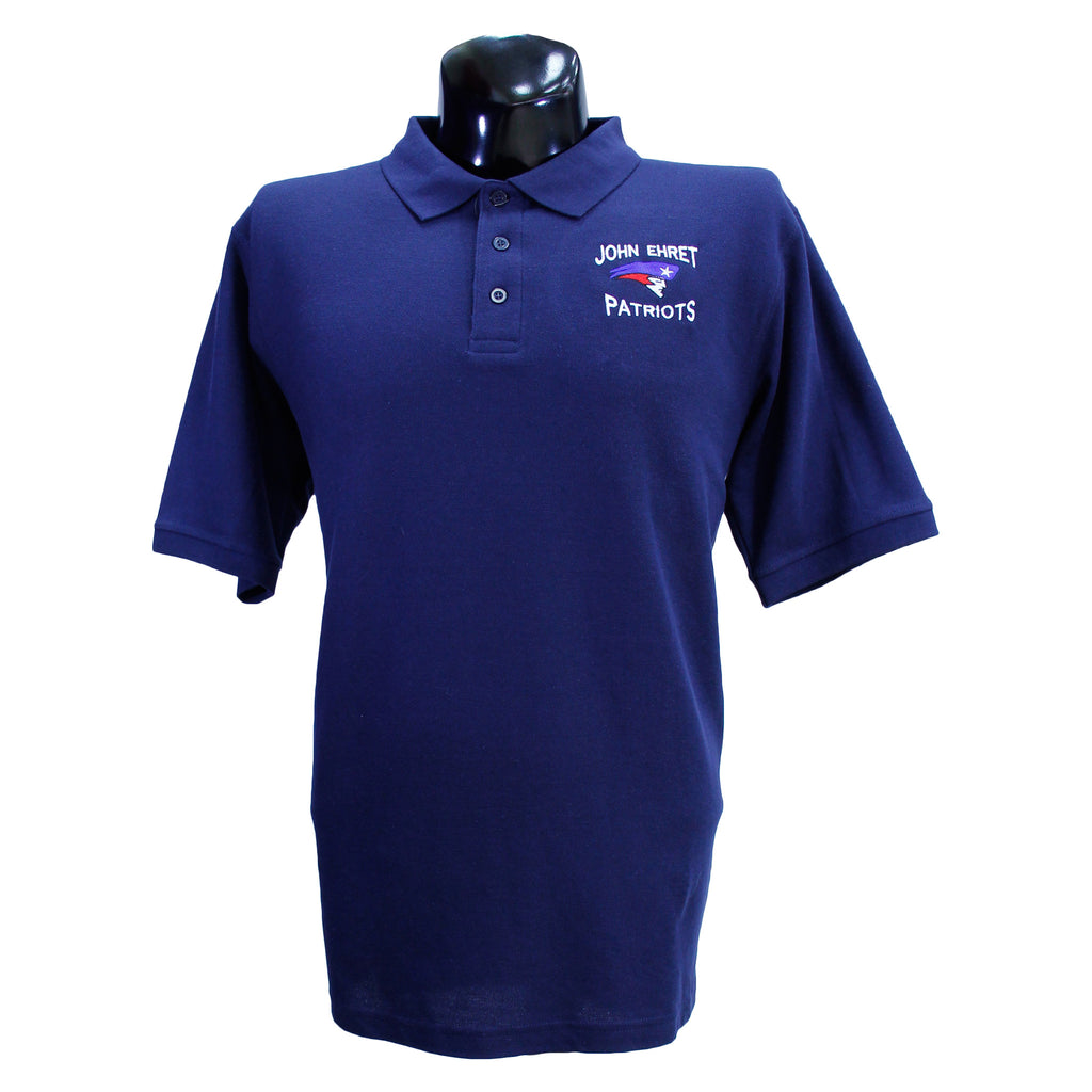 John Ehret Unisex Polo Uniform Shirt