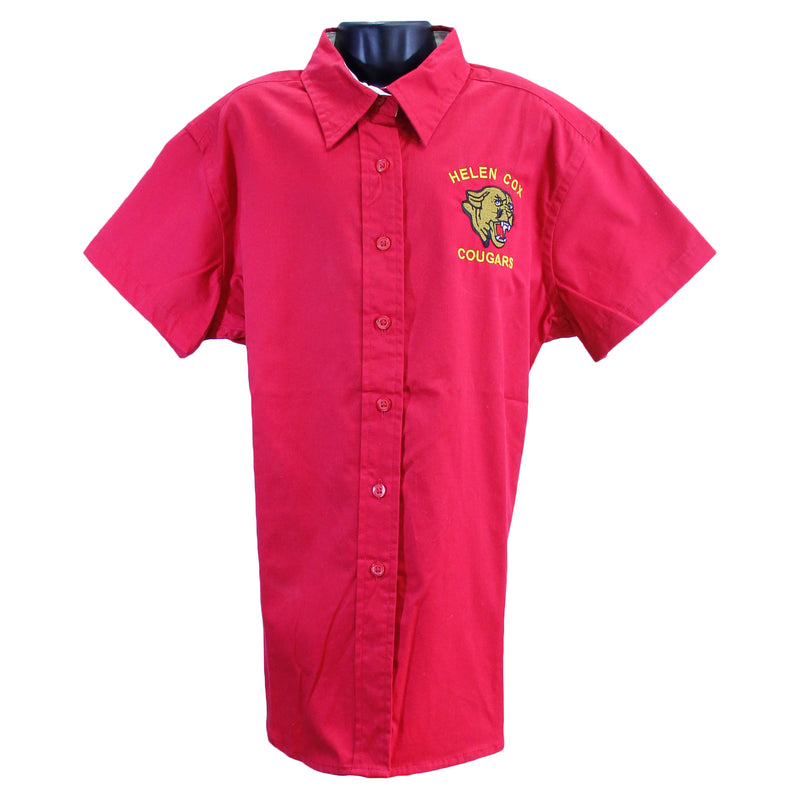 Helen Cox Ladies Oxfords Uniform Shirt