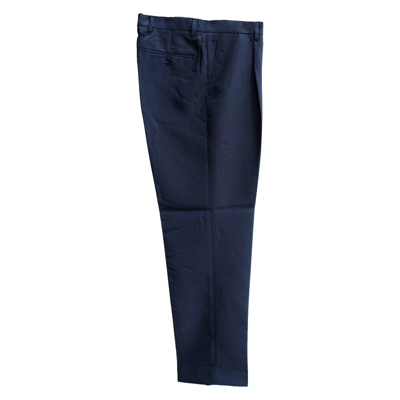 Men's Black Modern Fit Dress Pants - Monaco